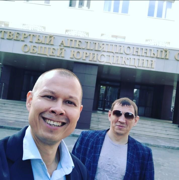 Павел Береснев принял участие в судебном заседании Четвёртого апелляционного суда